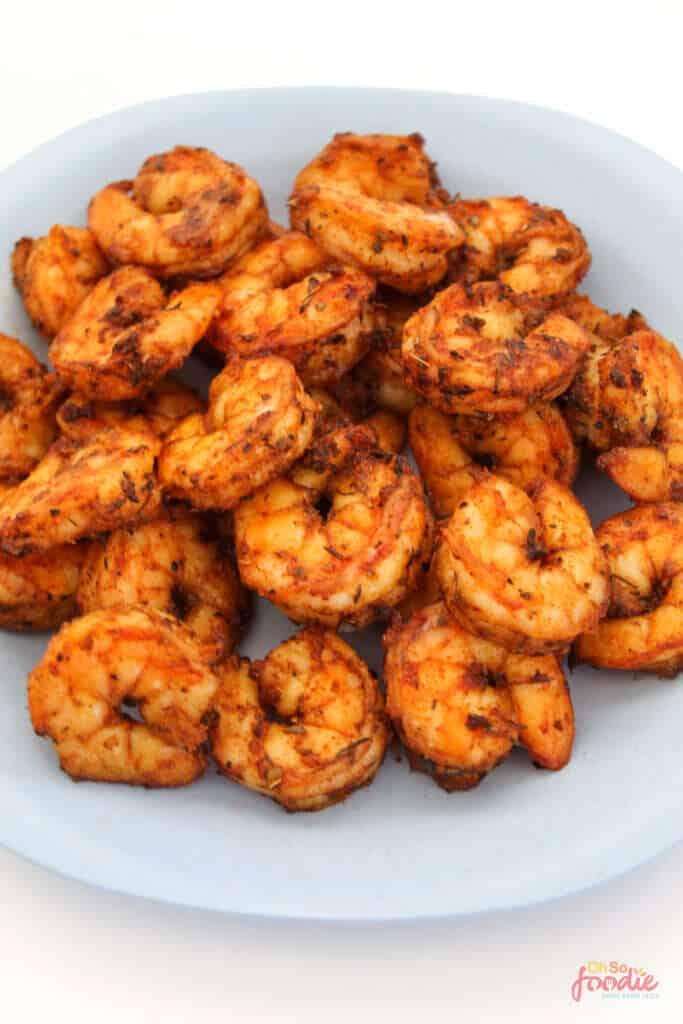 air fried cajun shrimp