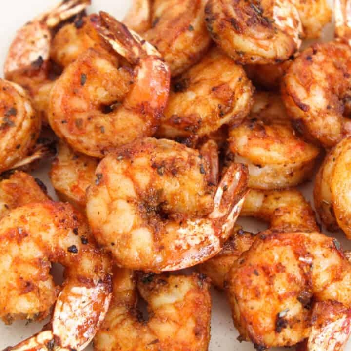 Juicy Air fryer shrimp