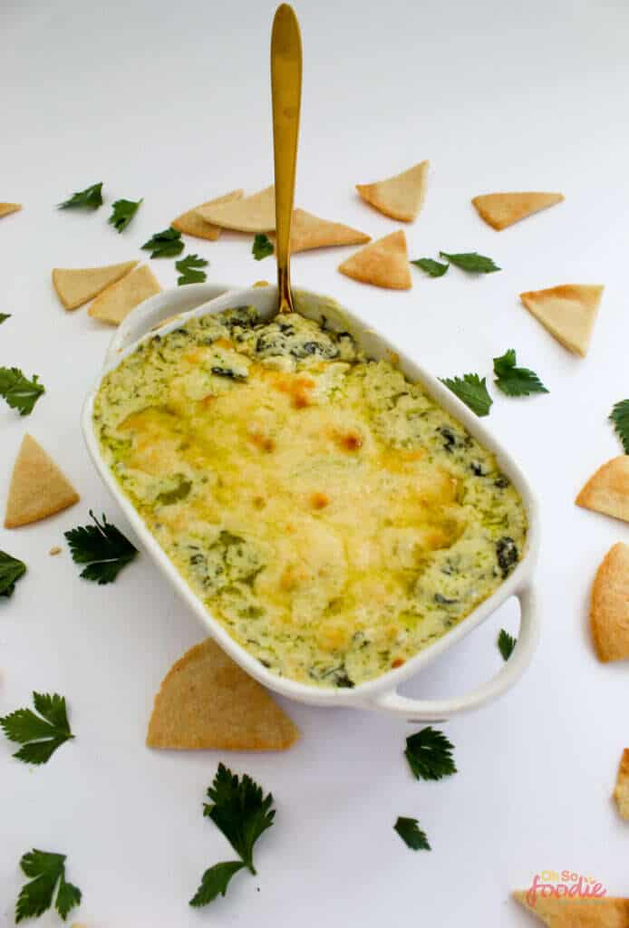 low carb spinach dip