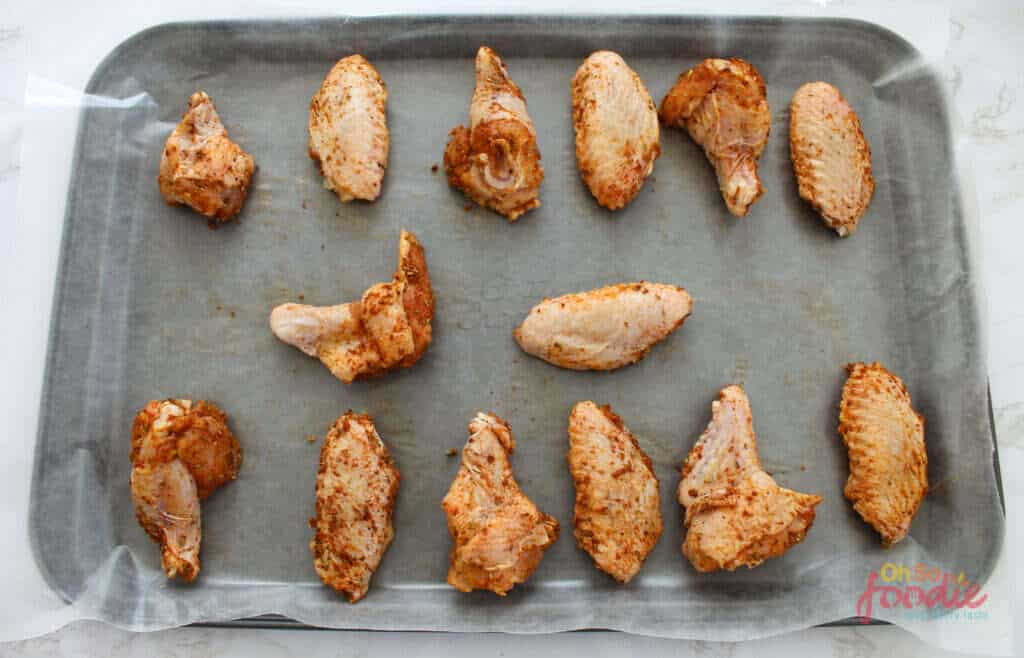 baking cajun wings