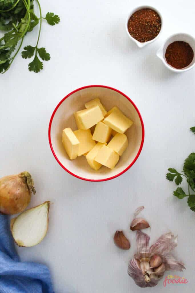 ingredients for cajun butter sauce
